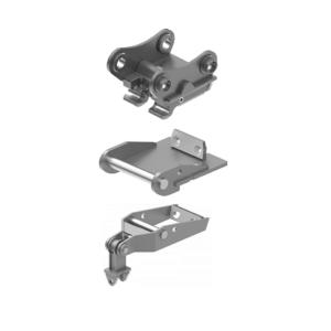 Schnellwechsler / Adapterplatte / Greiferaufhängung