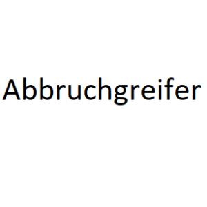 Abbruchgreifer
