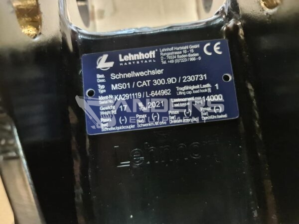Schnellwechsler Lehnhoff MS01