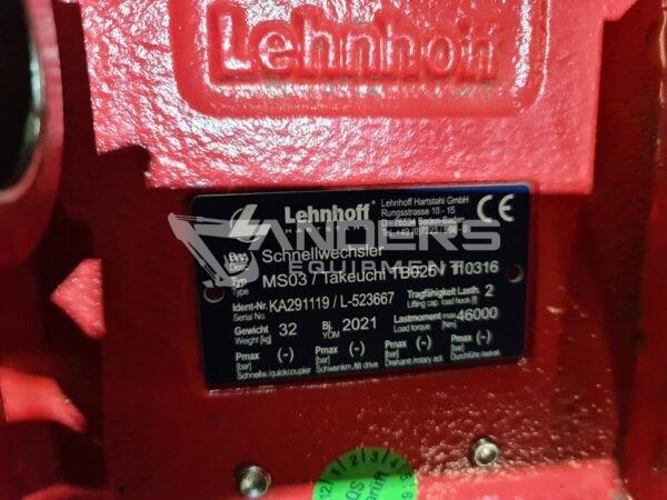 Schnellwechsler Original Lehnhoff MS03